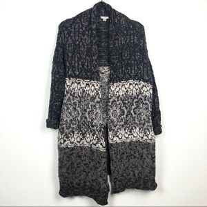 Urban Outfitters Ecote Long Knit Cardigan Sweater
